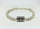 Sterling Barrel Bracelet