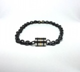 Black Barrel Bracelet