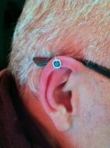 Emerald & Platinum Ear Jewelry