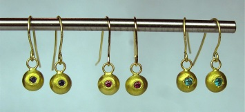 Organic Pod Earrings